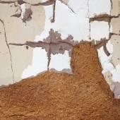 Stucco Wall — Stock Photo