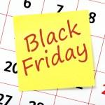 Black Friday reminder — Stock Photo #58353045