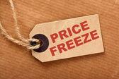 Geada de preços — Fotografia Stock