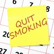 Quit Smoking Resolution — Stock Photo #60056511