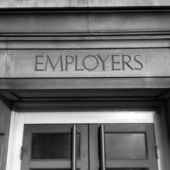 Employers Entrance — Stock Photo
