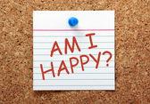 Am I Happy? — Stock Photo