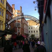 Carnaby Street - London — Stock Photo