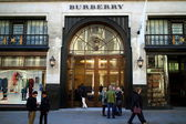 Burberry Store London — Stock Photo