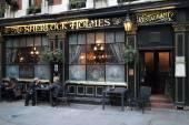 Sherlock Holmes Pub — Foto de Stock