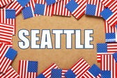 Seattle — Stock fotografie