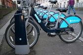 Barclays Bank Bicycles — Foto de Stock