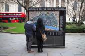 Welkom bij de City of London — Stockfoto