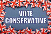 Vote Conservative — Stock Photo