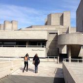 National theatre, em Londres — Fotografia Stock