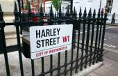 Harley Street London — Stock Photo