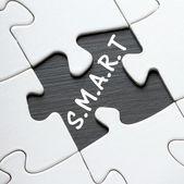 SMART Puzzle — Stock Photo