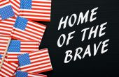 Home Of The Brave — Stock Photo