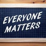 Everyone Matters — Stock Photo #73081179