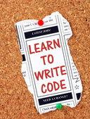Научиться писать код — Стоковое фото