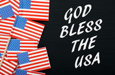 God Bless The USA — Stock Photo