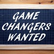 Game Changers Wanted — Stock Photo #74103251