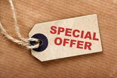 Special Offer Price Tag — Stock Photo
