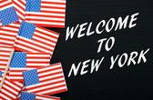 Καλώς ήρθατε στην Νέα Υόρκη — Φωτογραφία Αρχείου
