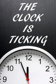 The Clock is Ticking — Stock Photo