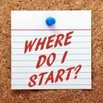 Where Do I Start? — Stock Photo #74584069