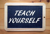 Teach Yourself — Stock fotografie