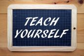 Teach Yourself — 图库照片