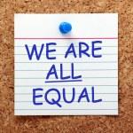Equality — Stock Photo #76152763