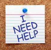 I Need Help — Stock Photo