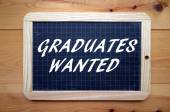 Graduates Wanted — Stock Photo