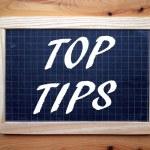 Top Tips — Stock Photo #76961373