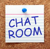 Chat Room — Stock Photo
