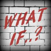 What If..? — Stock Photo