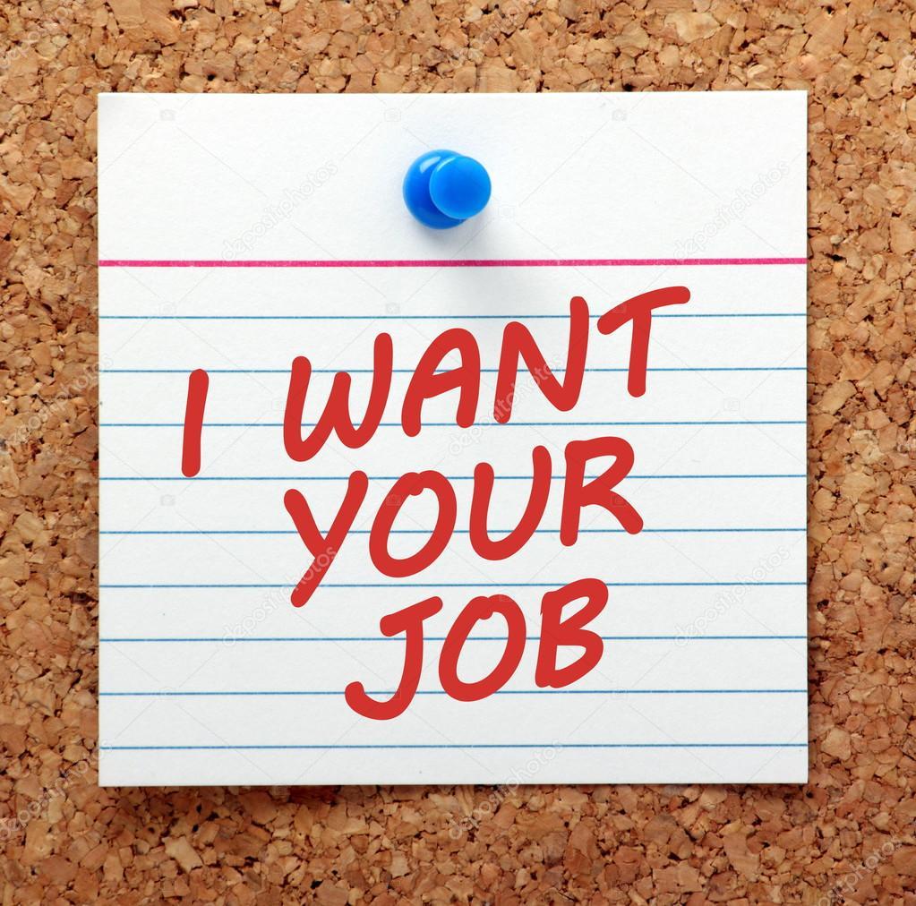 i want your job notice stock photo © thinglass 99752340 i want your job notice stock photo 99752340