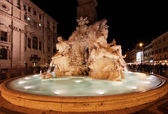 Fontana dei Quattro Fiumi — Stock Photo