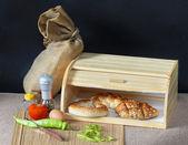 Bread box — Stock Photo
