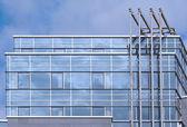 Szklana fasada — Zdjęcie stockowe