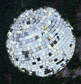ミラーボール結晶 — ストック写真
