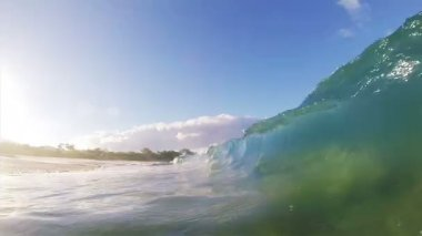 Inside the Wave — Stock Video