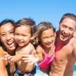 Family on the Beach — Stock Photo #54336333