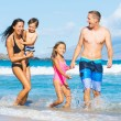 Family on the Beach — Stock Photo #54336439