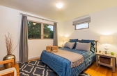 Bedroom in Contemporary Home — Stockfoto
