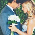 Romantic Wedding Couple — Stock Photo #54852637
