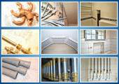 Plumbing site Collage. — Stock Photo