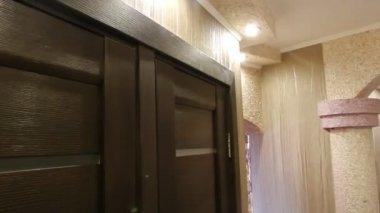 Casa interior. — Vídeo stock