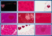 Valentine's day.Collage. — Stock Photo