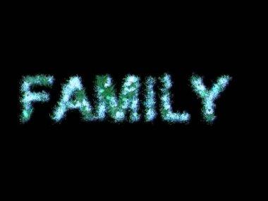 Family.Animation. — Stock Video