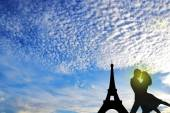 Vacation in Paris. — Stock Photo
