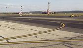 Landing territory — Stockfoto