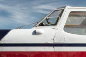 Flugzeug-kabine — Stockfoto